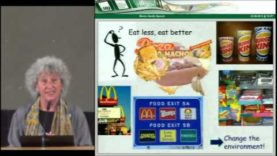 """Marion Nestle: """"Politics in Action: The Environment of Food Choice"""""""
